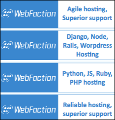 Hosting WebFaction
